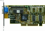 ATI RAGE 3D IIC 2Mb AGP Video Adapter