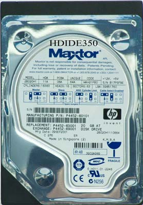 Re: maxtor 541dx (2b020h1) swapping pcbs