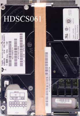 IBM 06H3371 1.0Gb 68pin SCSI Hard Drive