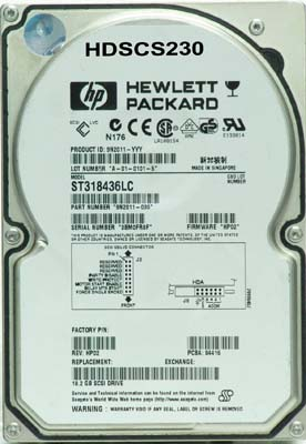 Seagate ST318436LC (9N2011-030) 18.2Gb 80pin LVD
