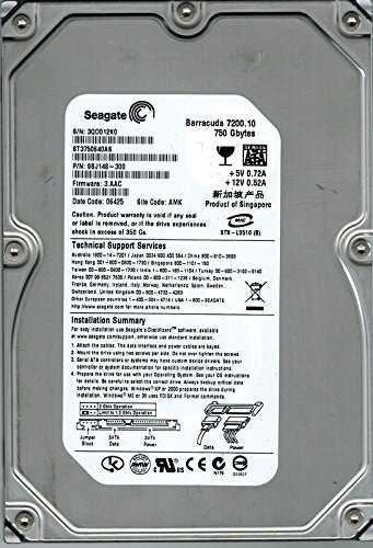 750Gb Seagate ST3750640AS 9BJ148-300 7.2k