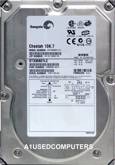 Seagate Cheetah ST336807LC 9BB006-001 36.4Gb