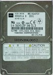 Toshiba HDD2514 527Mb 12mm Notebook Hard Drive