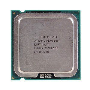 Intel C2D E7400 2.8Ghz SLBY9 1066MHz 3MB 775